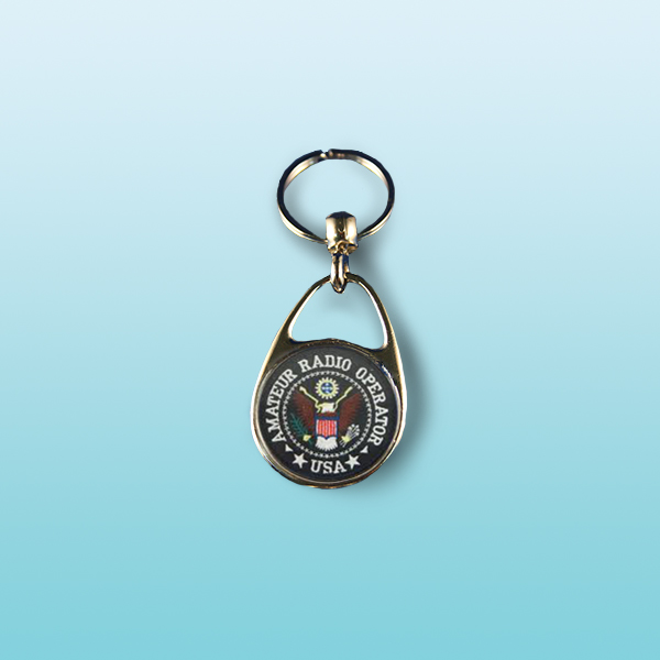 Amateur Radio OP Key Chain