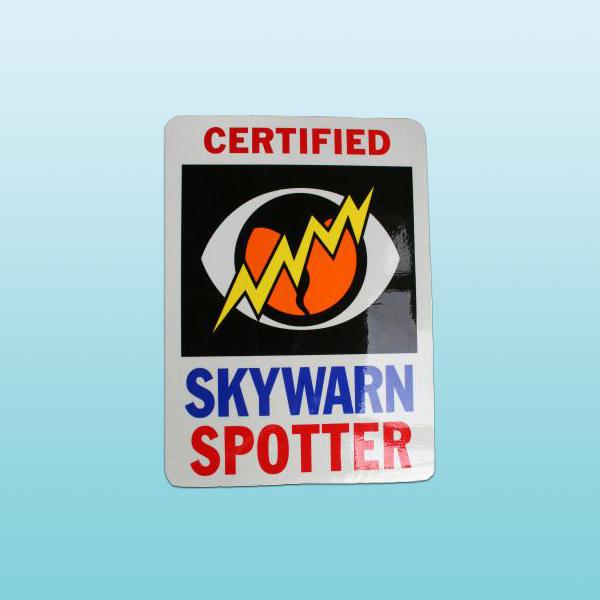 CAPS Cert Skywarn Magnet LG