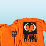 Skywarn Spotter T-Shirt Orange